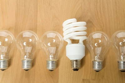 Energy saving light bulb versus cfl